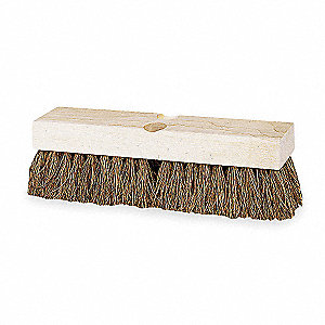 "9""L Palmyra Replacement Brush Head Scrub Brush, Not Included"