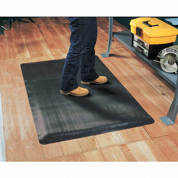 notrax antifatigue mat rubber 5 ft x 3 ft 1 ea 5mdl7 474s0035bl rs grainger. Black Bedroom Furniture Sets. Home Design Ideas