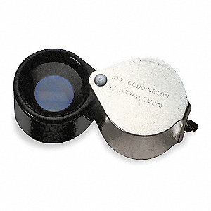 Magnifier,10X,Coddington