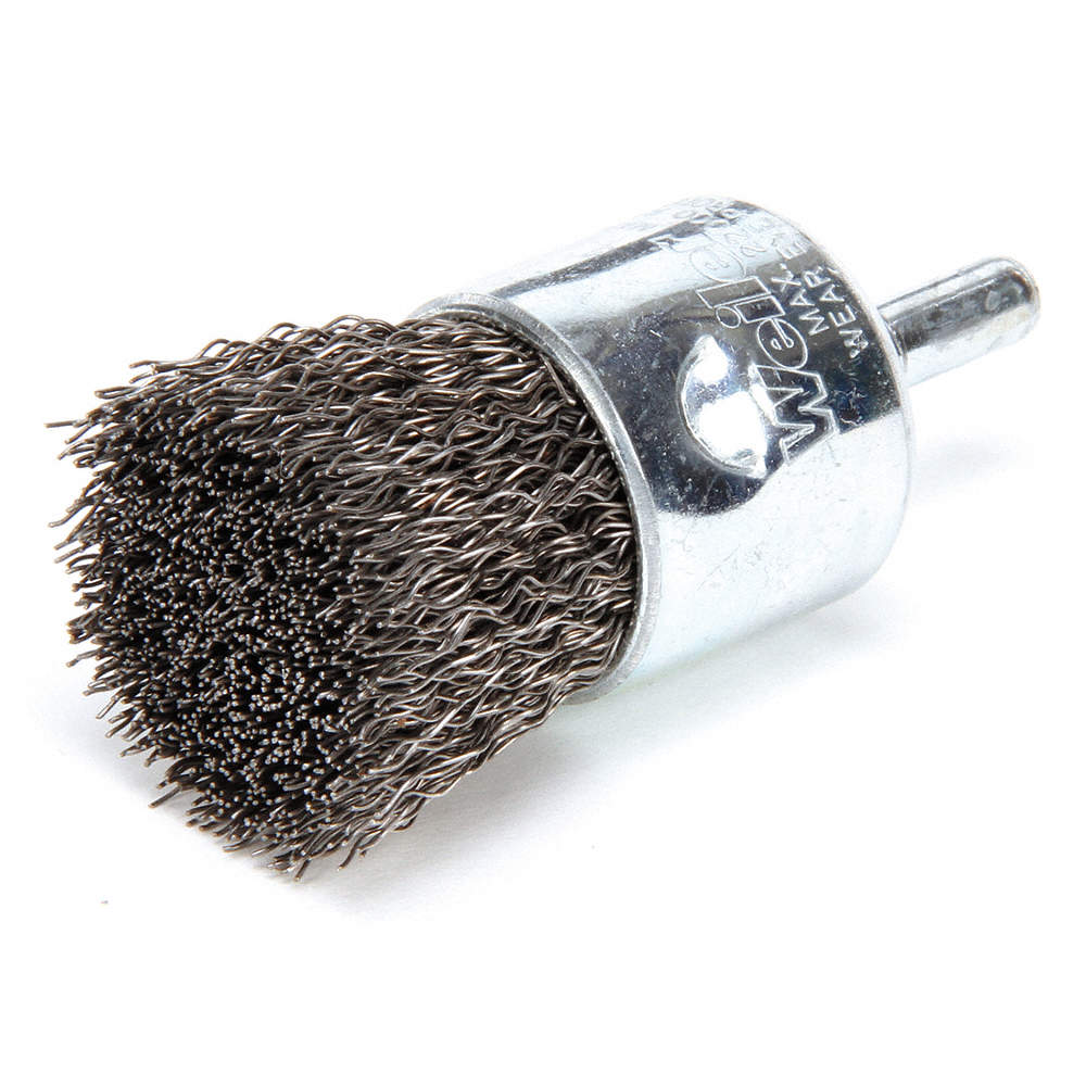 """1/"""" Wire End Brush"""