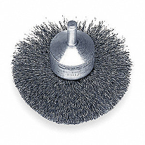 FLARED END BRUSH,3 IN