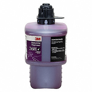 Industrial Degreaser, For Use With 3M  Twist 'n Fill  Chemical Dispenser, 1 EA
