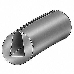 EDGING,EPDM,I,1/2 X 5/8 IN,100 FT L