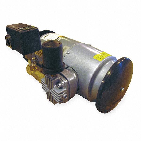 Gast 1 4 hp piston air compressor 115vac 50 50 max psi for Gast air motor distributors