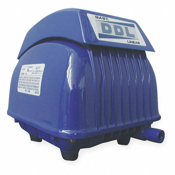 Gast hp double diaphragm linear compressor pump 3hdh7 for Gast air motor distributors