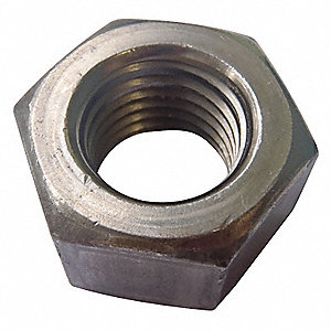 Hex Nut,7/16-20,Gr 5,ZP,PK1400