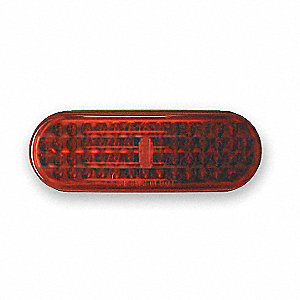 LAMP,LED,PARK/REAR,OVAL,RED