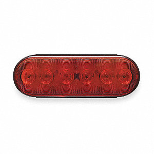 STOP/TURN/TAIL,6IN OVAL, SEALED,LED