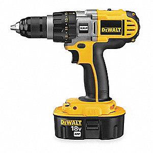 "18V XRP NiCd 1/2"" Cordless Drill/Driver Kit, Battery Included"