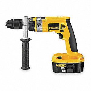 "1/2"" Cordless Hammer Drill/Driver Kit, 18.0 Voltage, Battery Included"