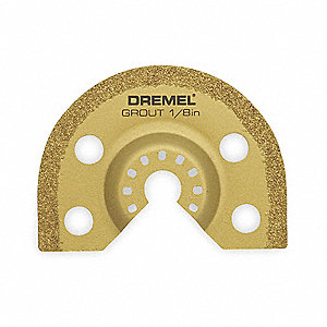 Carbide Grout Blade,1/8 In T,Use W/3DRN2