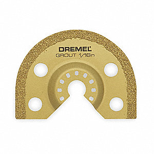 Carbide Grout Blade,1/16 In T,For 3DRN2