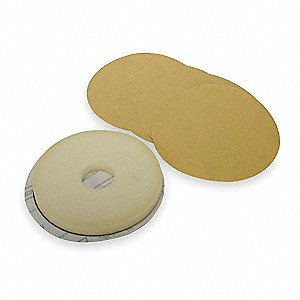 Disc Kit,9 In,220 Grit,Discs/Pad,Pk5