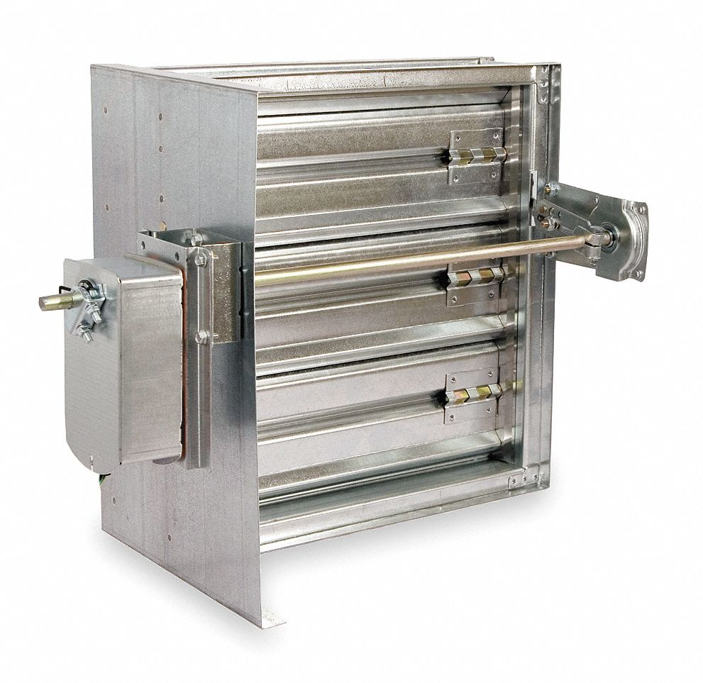 Motorized Fire And Smoke Dampers
