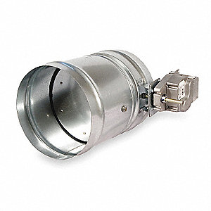 Round Smoke Damper,120V,8-1/4 In. D