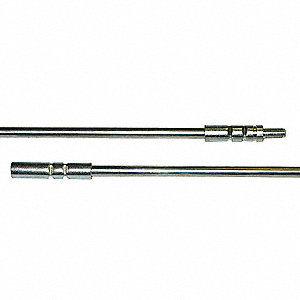 Extension Rod,1/4 28(M)and(F)Thread,L 36