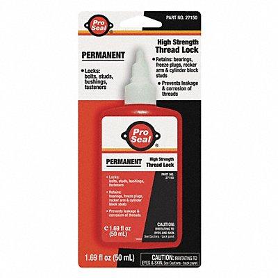 3HHJ3 - Permanent Threadlocker 50mL Bottle Red