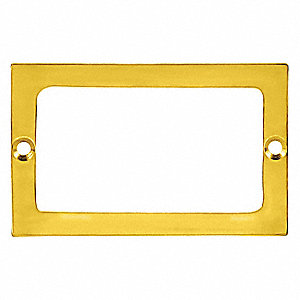 Card Holder,Polished Brass
