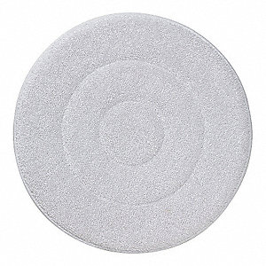 "19"" White Carpet Bonnet, Microfiber"