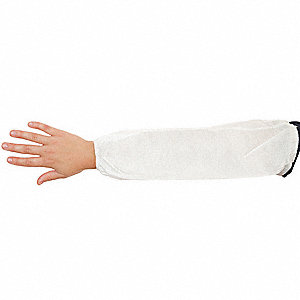 Disposable Sleeves,White,21 In. L,PK200