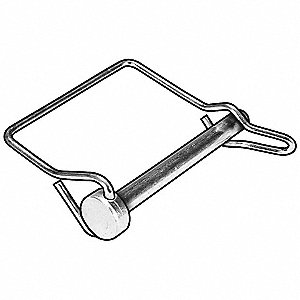 SAFETY PIN,SINGLE WIRE,5/16 IN,PK5