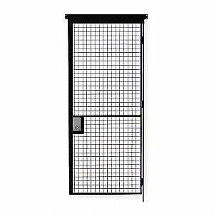 Electrostatic Polyurethane Wire Partition Hinged Door, 1 EA