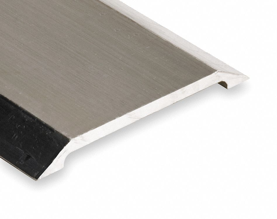 175SS98 x 4 x 1//2 Smooth Top Saddle Threshold Pemko 8 ft Silver