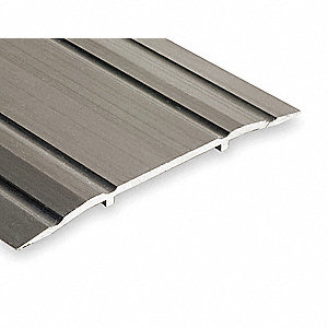 Saddle Threshold,Fluted Top,6 ft.,Alum