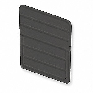 Black Stacking Bin Divider