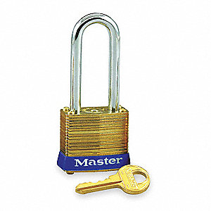 "Keyed Padlock,Alike,1-1/8""W"