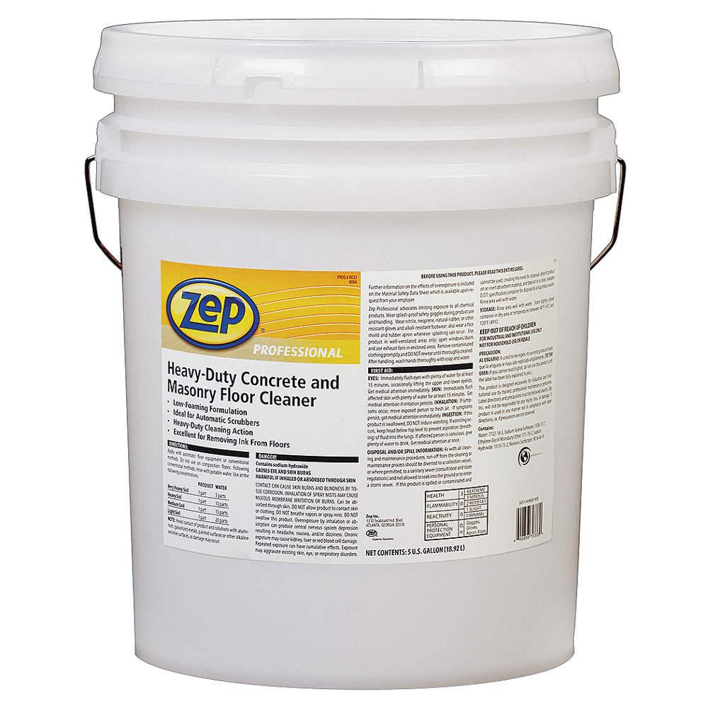 Zep heavy duty concrete and masonry floor cleaner sds for Heavy duty concrete floor cleaner