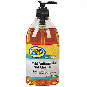 Antimicrobial Hand Cleaner, Fresh and Clean Fragrance, 500mL, EA 1