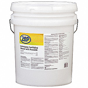 5 gal. Sanitizing Cleaner, 1 EA