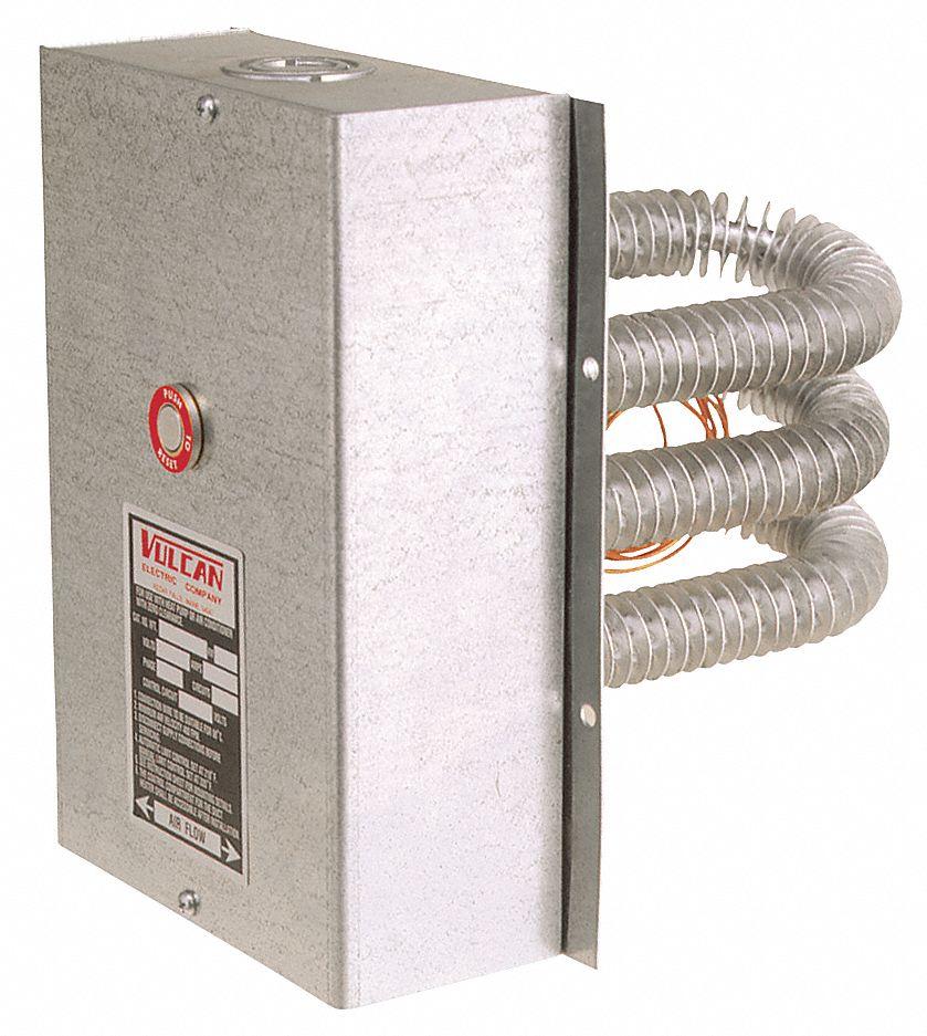 Finned Tubular Air Duct Heaters