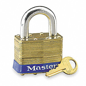 PADLOCK BS 2IN-4PIN KEYED ALIKE