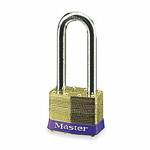 PADLOCK BS 2IN-4PIN 2-1/2IN SHKL