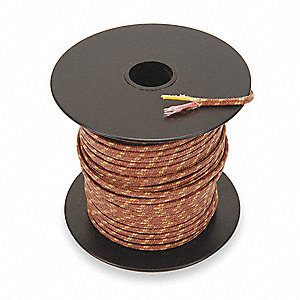 TEMPCO Thermocouple Lead Wire,K,20AWG,Sol,250Ft - 3HWL2|TCWR-1007 ...