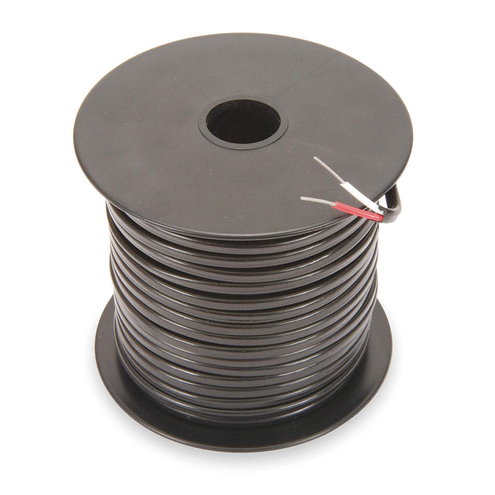 TEMPCO 250 ft. Solid, PVC JX Wire Thermocouple Extension Wire with ...