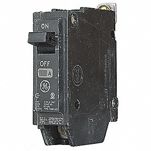 Bolt On Circuit Breaker,15A,1 Pole,THQB