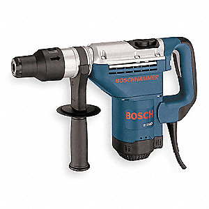 SDS Max Rotary Hammer, 10 Amps, 3000 Blows per Minute, 120 Voltage