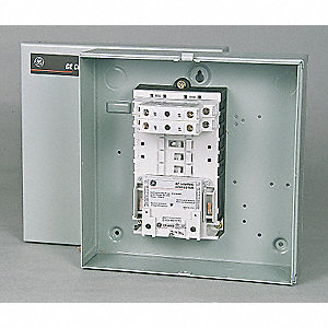Lighting Magnetic Contactor, 277VAC Coil Volts, Contactor Type: Electrically Held, Number of Poles: