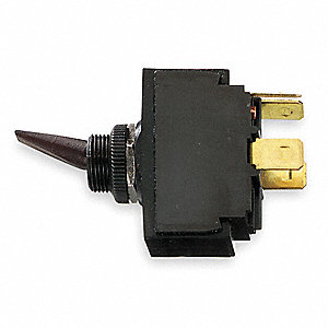 Marine Toggle Switch, Number of Connections: 4, Switch Function: On/Off