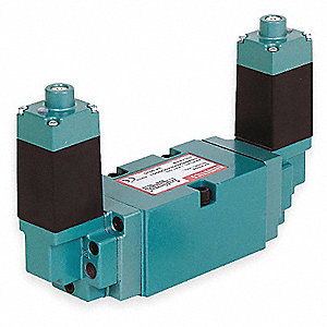 "1/2"" 24VDC 4-Way, 2-Position Solenoid Air Control Valve"