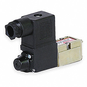 "1/8"" 24VDC 4-Way, 2-Position Solenoid Air Control Valve"