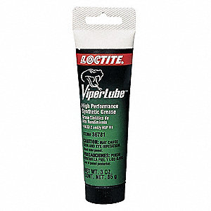 White Synthetic Grease, 3 oz., NLGI Grade: 2