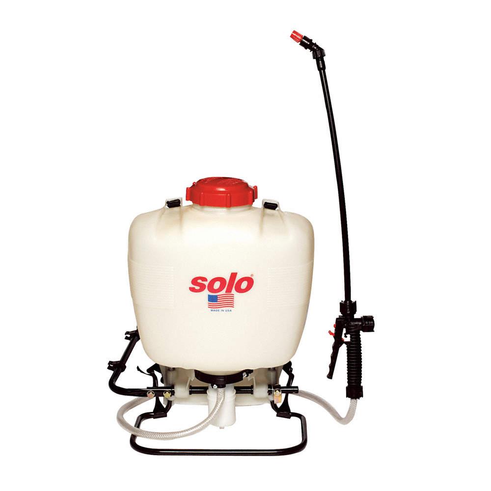 Backpack Sprayer, Polyethylene Tank Material, 4 gal , 90 psi Max Sprayer  Pressure