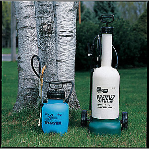 Lawn and Garden Handheld Sprayer, 45 psi, 3 gal.