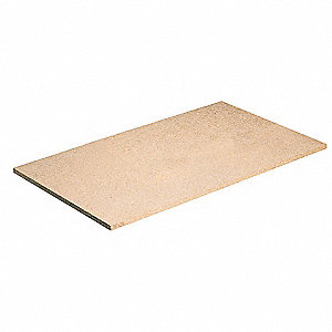 "Particle Board used with Boltless Shelving, Bulk Storage Rack, 32-7/8""D x 69""W, Natural"