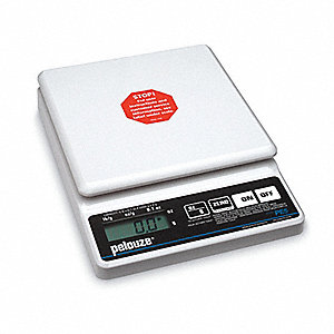 Digital Straight Weight Scale,10 lb. Cap