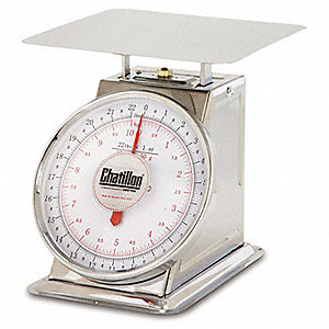 15kg/33 lb. Mechanical Analog Dial Compact Bench Scale